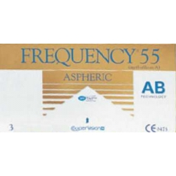 FREQUENCY 55 ASPHERIC 3 szt.
